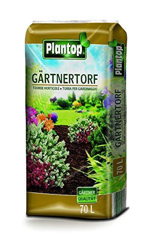 Plantop Gärtnertorf 70 Liter Sack Torf in Gärtnerqualität aus Bayern !