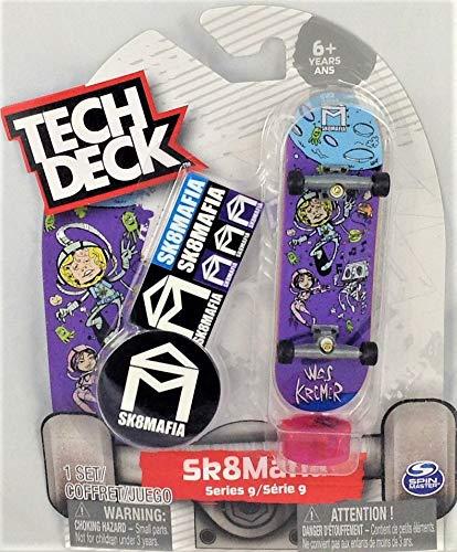 TECH DECK SK8MAFIA Series 9 Wes Kremer Outer Space Fingerboard Ultra Rare #20108351