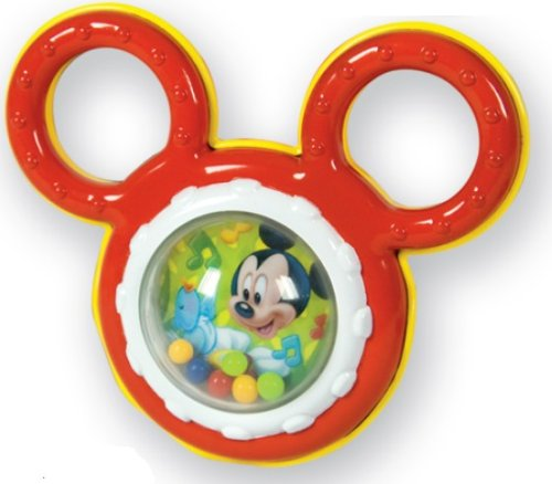 Clementoni - 14611 - Activité d'éveil - Hochet Mickey avec poignée