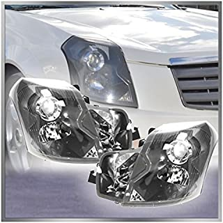 Headlights Headlamps Left & Right Pair Set for 03-07...