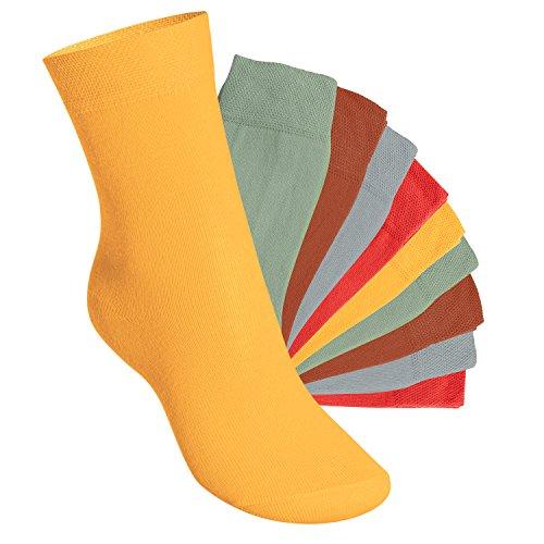 Footstar Kinder Socken (10 Paar) - Everyday! - Urban Camouflage 35-38