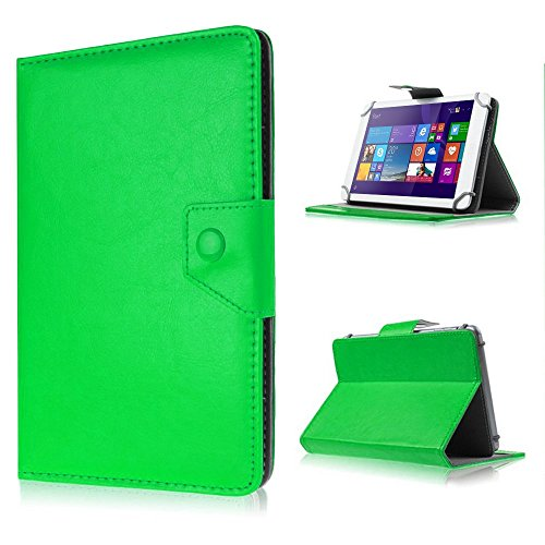 UC-Express Tasche für Acer Iconia One 10 B3-A10 Hülle Hülle Tablet Cover Schutzhülle Bag, Farben:Grün