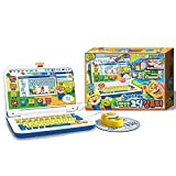 PORORO Coding Computer Playset, Korean and English Modes, Laptop Playset Home Education Playset, Kids' Children's Educational Toys, Best Gift for Boys Girls Toddler, Korean Toy