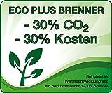 Enders® Terrassenheizer Gas Elegance, Gas-Heizstrahler 9376, Heizpilz mit stufenloser Regulierung, Eco Plus Brenner, Transporträder, Umkippsicherung - 4
