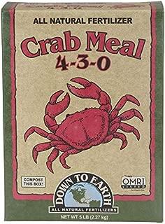 Best crab shell meal fertilizer Reviews