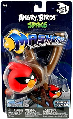 Angry Birds Space Mash 'ems Power Launcher Series 1 [rot Bird]