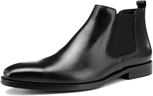 JCZR zapatos De Cuero para Hombre botas Británicas De Viento Martin.