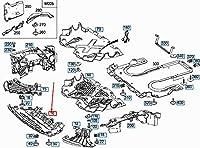 MB S W222 フロント カプセル化 シールド A2225200400 NEW GENUINE