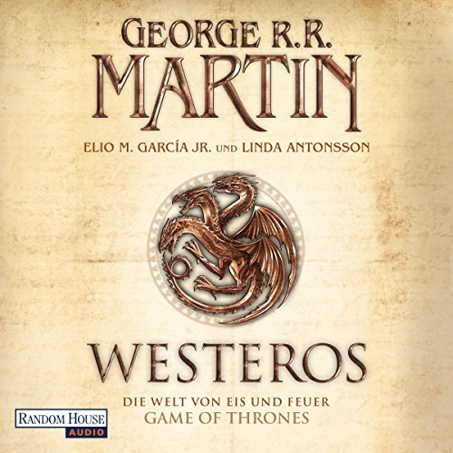 Westeros audiobook cover art