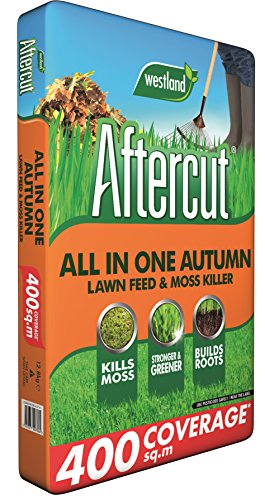 Aftercut All In One Autumn Lawn Care (Lawn Feed and Moss killer), 400...