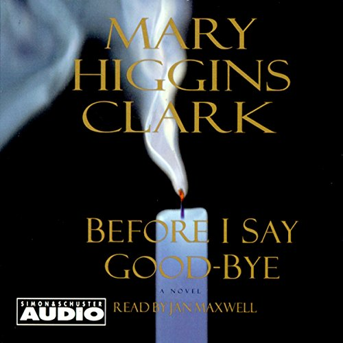 Before I Say Good-Bye audiobook cover art