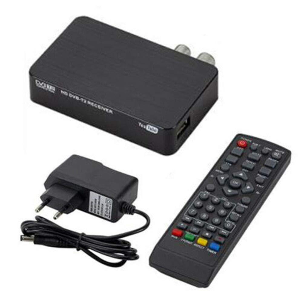 Decodificador TDT HD para grabar, ver y pausar la TV en directo en alta definición 1080p. Salida HDMI AV para los antiguos y nuevos televisores.: Amazon.es: Bricolaje y herramientas