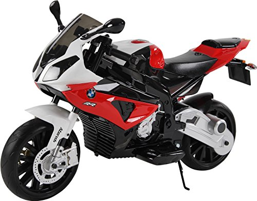 BMW Kindermotorrad S1000RR Lizenziert Kinderelektroauto Kinderfahrzeug Neu ! (Rot)
