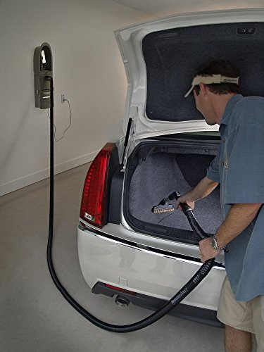 GarageVac GH120-W White Surface Mounted Vacuum Cleaner