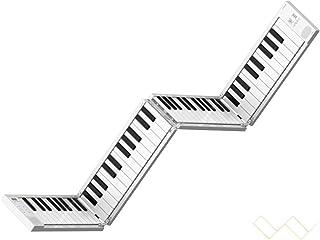 Piano eléctrico portátil plegable de 88 teclas