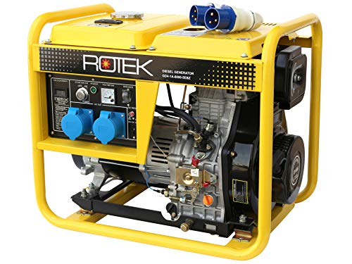 Rotek Diesel Stromerzeuger GD4-1A-6000-5EBZ (5,5 kVA / 230V 50Hz 1-phasig)