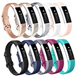 AK Replacement Bands Compatible with Fitbit Alta Bands/Fitbit Alta HR Bands (10 Pack), Replacement Bands for Fitbit...