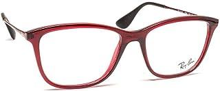 Óculos de Grau RX7135L Bordô - U / 177/0