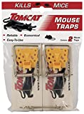 Tomcat Wooden Mouse Traps, 2 Traps