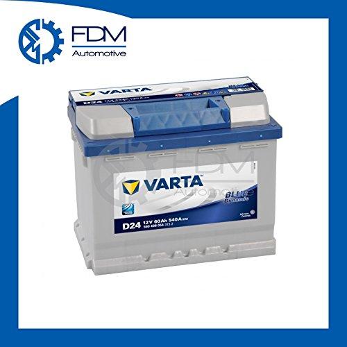 VARTA - 151.08.17 - D24 - Azul Dinámico / 60Ah batería de coche / batería - Mantenimiento -
