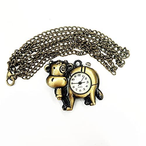 Reloj Niño ZWRY pequeño Reloj de Bolsillo joyería Regalo Colgante Reloj niños Reloj de Dibujos Animados 18