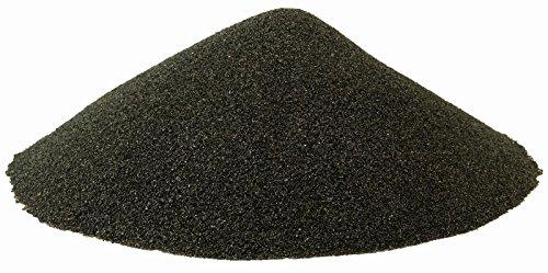 BLACK BEAUTY Abrasive Blast Media Fine Abrasive 20/40 Mesh Size for use in Sandblast Cabinet - 25 LBS
