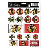 WinCraft NHL Chicago Blackhawks Vinyl Sticker Sheet, 5' x 7'