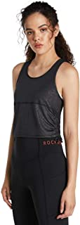 Rockwear Activewear Women's Samba Ruched Side Crop from Size 4-18 for Singlets Tops