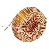 Ladieshow 20Pcs Bobina di rame di alta qualità del filo dell'induttore toroidale per circuito stampato 5026 330UH 3A