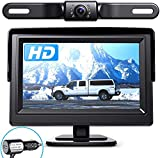 eRapta Backup Camera ERT01 with 4.3 inch Monitor License...