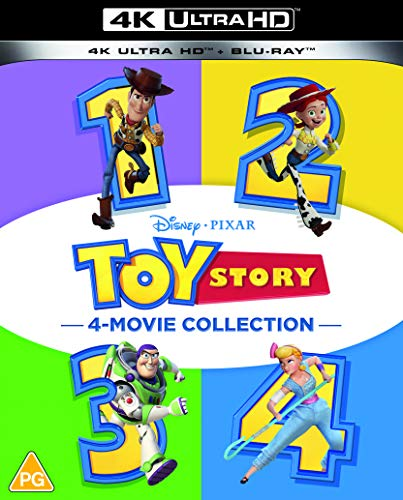 Toy Story 1-4 Movie Collection [Blu-ray] [UK Import]