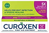 CUROXEN First Aid Ointment with Arnica, 0.5 oz  Fast Pain Relief   All-Natural & Organic Ingredients   First Aid Supplies