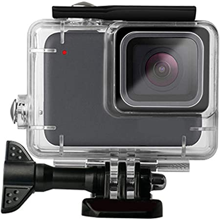 Amazon Com Waterproof Case For Gopro Hero 7 Silver White Protective Rotective Underwater Dive Case Cover Housing For Go Pro Hero 7 Silver White Camera Photo
