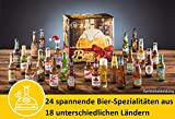 Kalea Bier-Adventskalender internationale Biere & Verkostungsglas - 5