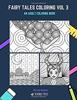 FAIRY TALES COLORING VOL 3: The Jungle Book, Arabian Nights & Sleeping Beauty - 3 Coloring Books In 1