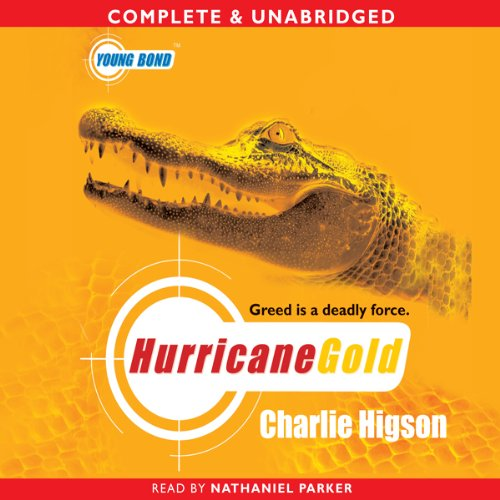 Young Bond: Hurricane Gold Titelbild