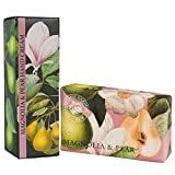 Royal Botanic Gardens KEW Handcreme & Sheabutter Seife Geschenkset - Magnolie & Birne