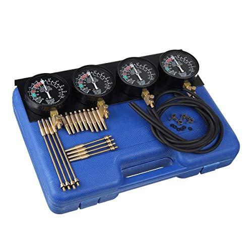 4 STÜCKE Motorrad Kraftstoff Vakuum Kohlenhydrate Vergaser Gauger Balancer Werkzeug Kit Für Motorrad Auto Reparaturwerkzeuge