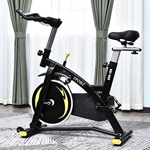 HOMCOM Flywheel Exercise Bike Review