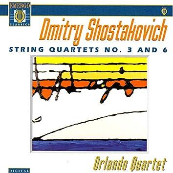 Shostakovich: String Quartets No. 3, Op. 73 and No. 6, Op. 101