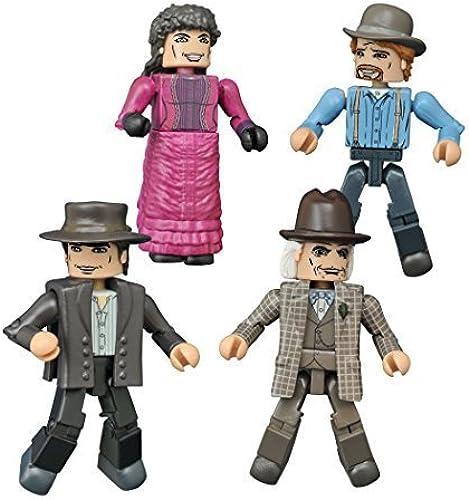 Diamond Select Toys Back to The Future  30th Anniversary 1885 Minimates Box Set by Diamond Select