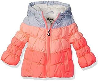 OshKosh B'Gosh Baby Girls' Perfect Colorblocked Heavyweight Jacket Coat