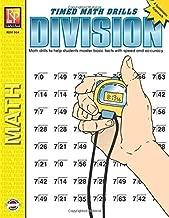 Timed Math Drills: Division | Reproducible Activity Book