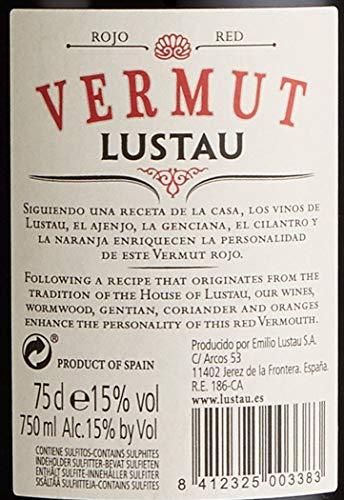 Lustau Vermut Red 15% Vol roter Wermut (1 x 0.75 l) - 7