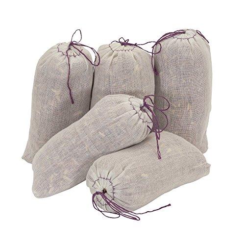 Household Essentials 55975-1 Fresh Red Cedar Shavings and Lavender Sachet - Mild Scent That Repels Moths - 5-Pack