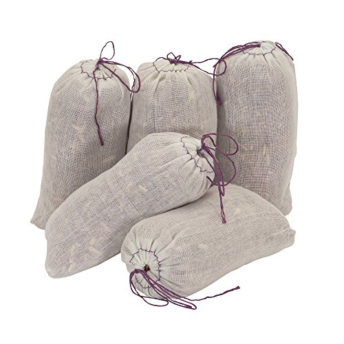 Household Essentials 55975-1 Fresh Red Cedar Shavings and Lavender Sachet - Mild Scent That Repels Moths - 5-Pack