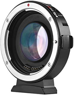 VILTROX EF-M2 AF 0.71x Autofocus Focal Reducer Booster Mount Adapter Design for Canon EOS EF Lens to M4/3 MFT Micro 4/3 Camera Panasonic GH5 4 3 2 1, Olympus OM-D E-M1 M5 M10/E-PL8 7 6 5/Pen-F