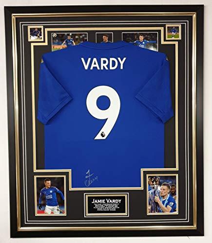 www.signedmemorabiliashop.co.uk Signiertes Hemd von Jamie Vardy