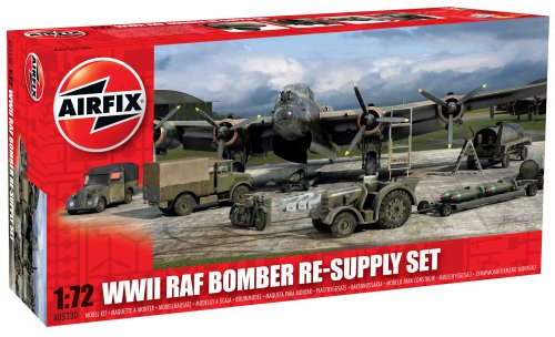 Airfix A05330 Modellbausatz WWII Bomber Re-Supply Set
