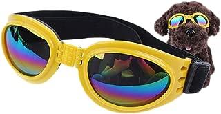(デマ―クト)De.Markt 犬用 サングラス ゴーグル トイプードル 愛犬の眼の保護に 中小型犬 6kg以上の犬に向け ペット用 <ゴーグル 目の保護に ちょい悪 メガネ ゴーグル アクセサリー おしゃれ